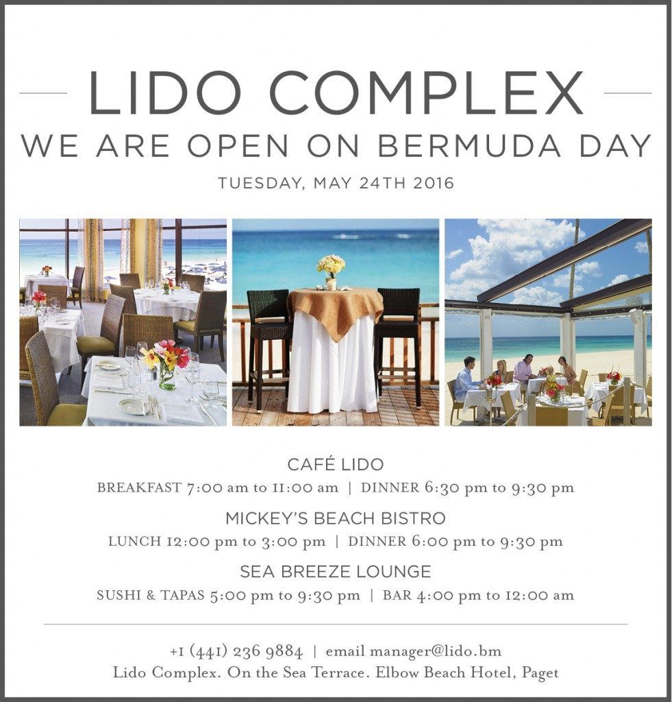 We are Open Bermuda Day