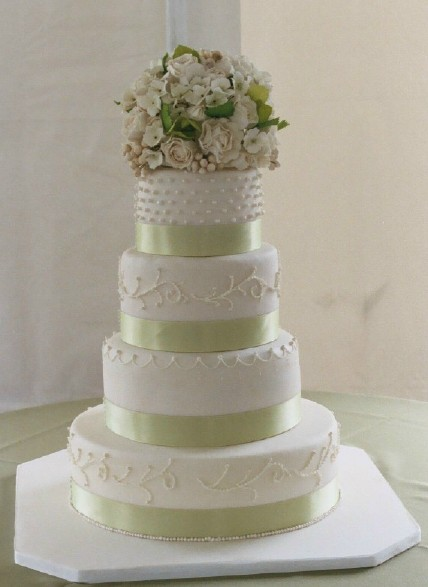 white-with-lime-green-ribbon